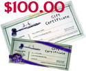 Give a class as a gift with an Auction Gift Certificate!